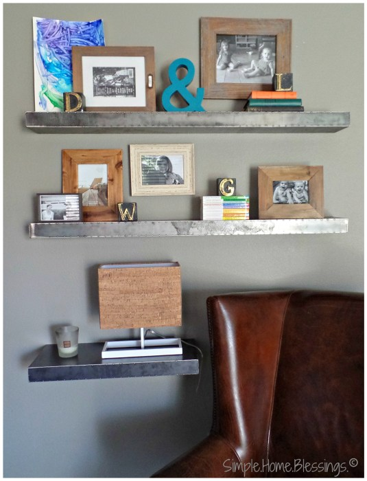 create a layered look for shelves, step 4