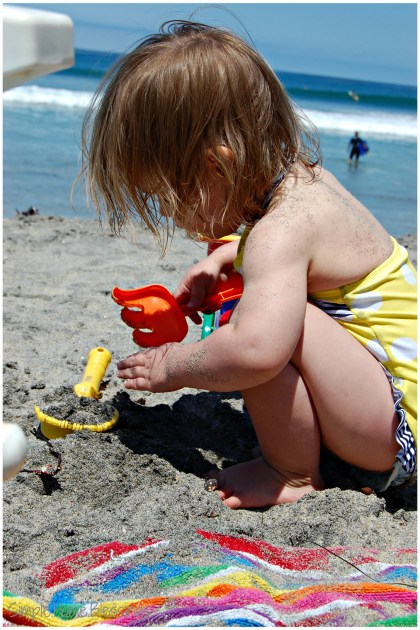 The beach - top southern california destinations for tots