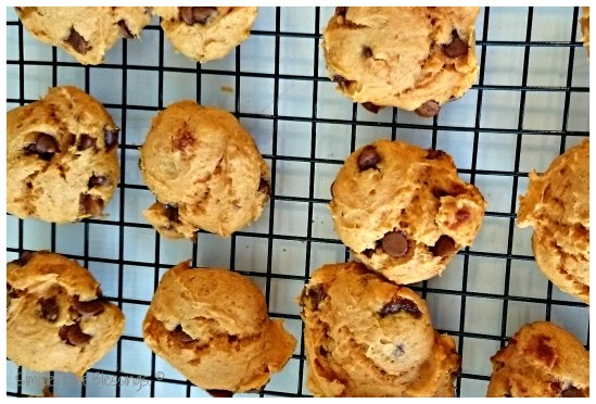 Pumpkin Cinnamon Chip Cookies - so simple recipe for fall