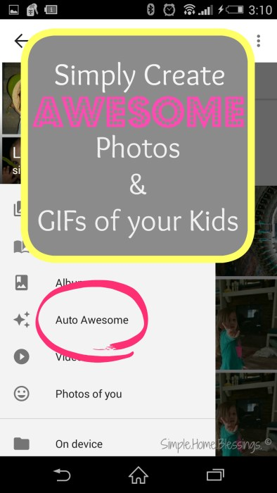 Easily create awesome GIFs and photos of your kids, a complete tutorial with amazing results!