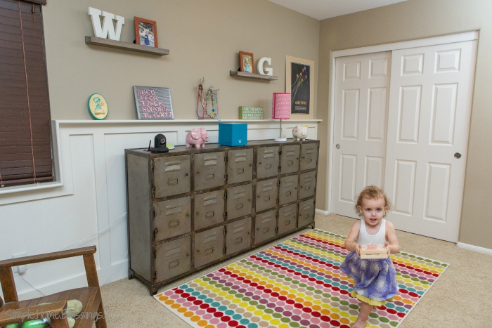 Girls' Shared Bedroom (toddler)
