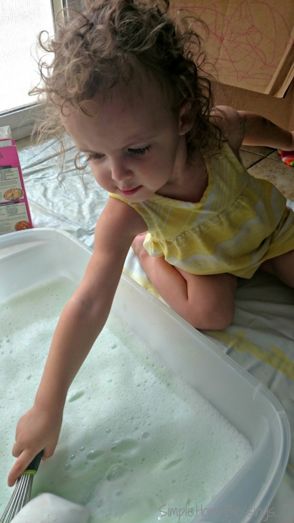 Recipe for Play - Sensory Glop