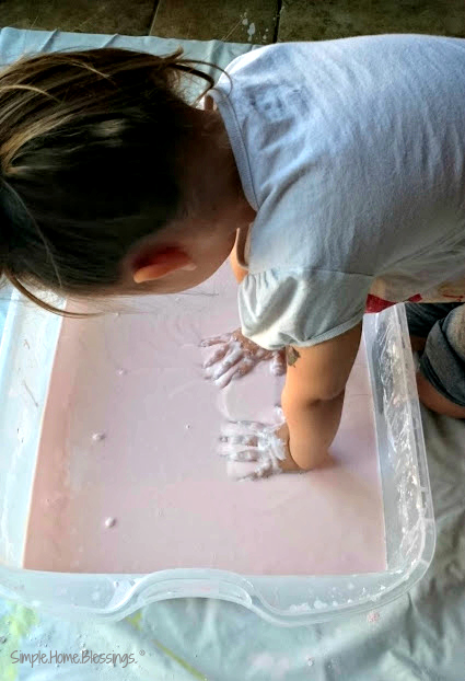 Sensory Glop - fun for hours!
