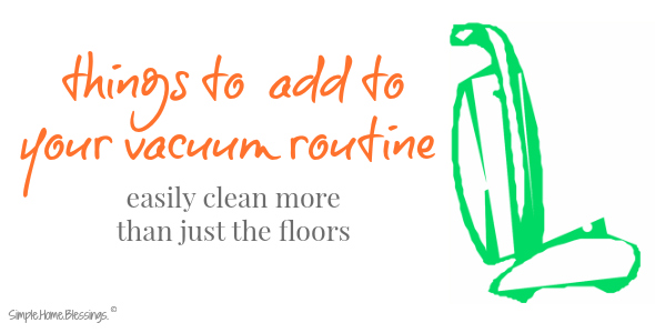 these are so easy to work into my cleaning schedule and get my house cleaner!