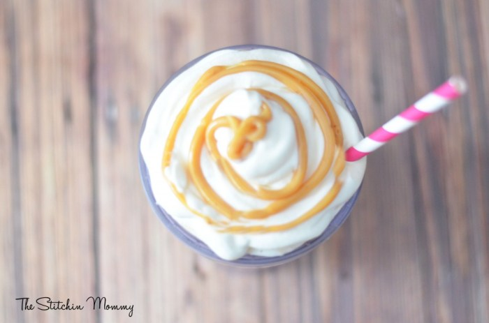 iced coffee de leche