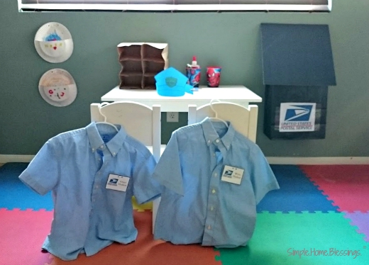 post office pretend play - spend less, play more!
