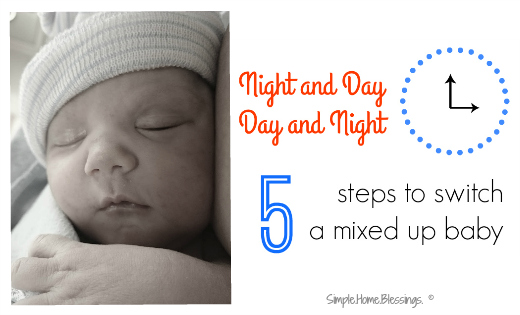 Baby Sleep tips to help transition from night to day