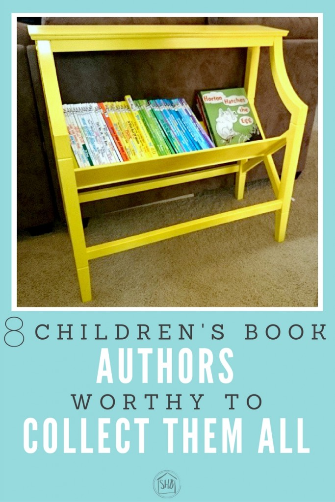 The best children's book authors, worth collecting every book they have written! Great authors for young kids to fall in love with reading.