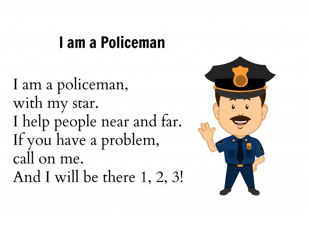 Preschool Helpers: Police Men - Simple. Home. Blessings