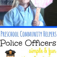 Preschool Helpers: Police Men