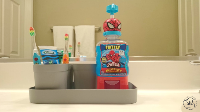 Creating Healthy Habits with kids, a tooth-brushing organization systerm