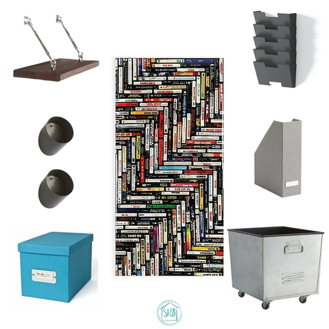 Home office organization makeover plan
