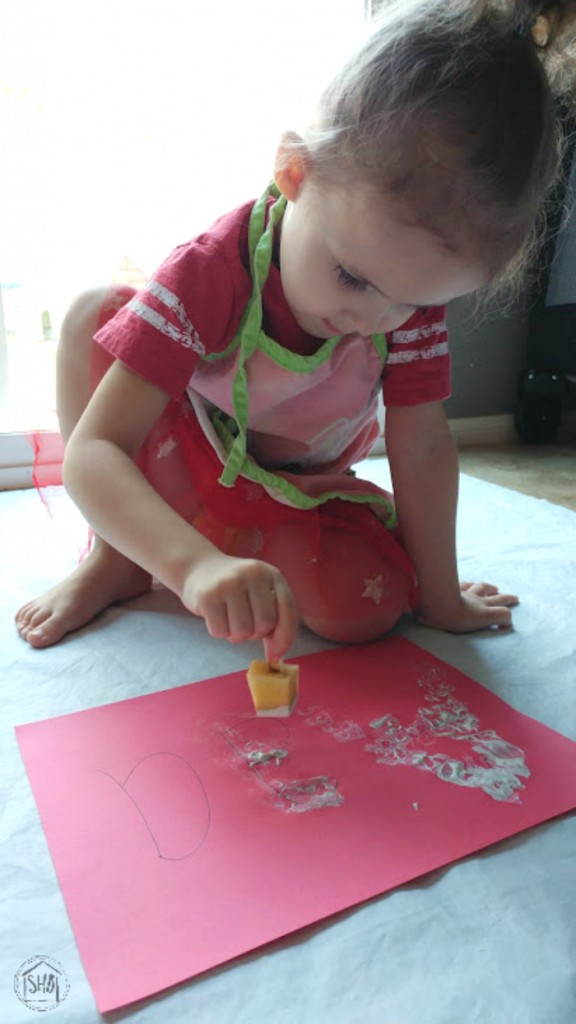 Apple Core stamping for short-vowel sound Aaɑ