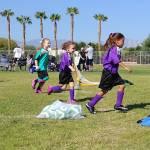 Another action shot of our soccer player!