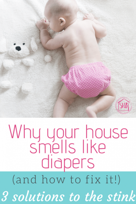 Face it: your house stinks because of diapers. Here's what you did wrong and how to fix it fast!