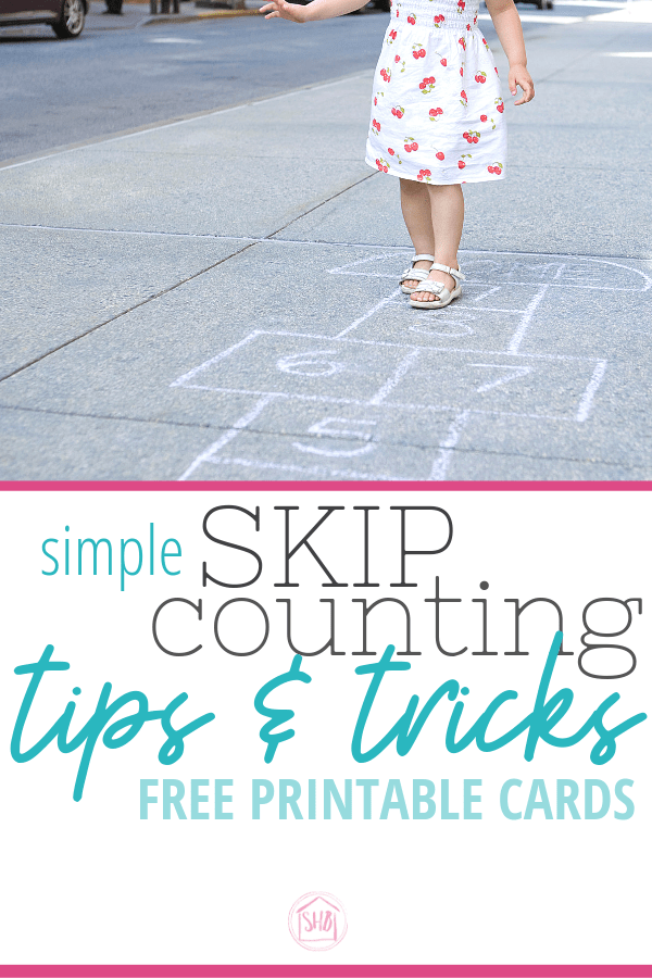 simple ideas for teaching skip counting to early elementary students.  free printable sets for 1-15, squares and cubes perfect for Classical Conversations Math