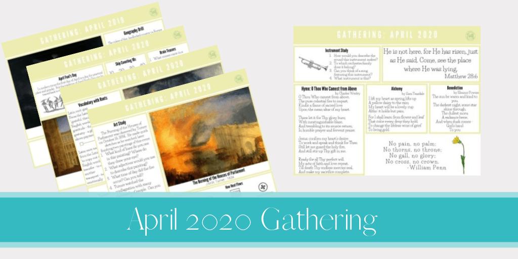 April 2020 Gathering