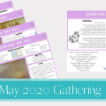 May 2020 Gathering placemats