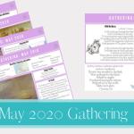 May 2020 Gathering placemats
