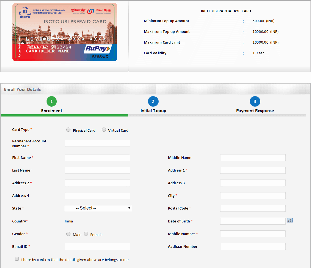 Sbi card for online shopping