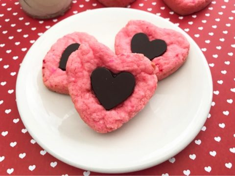 Chocolate Strawberry Cake Mix Cookies Simple In The Country