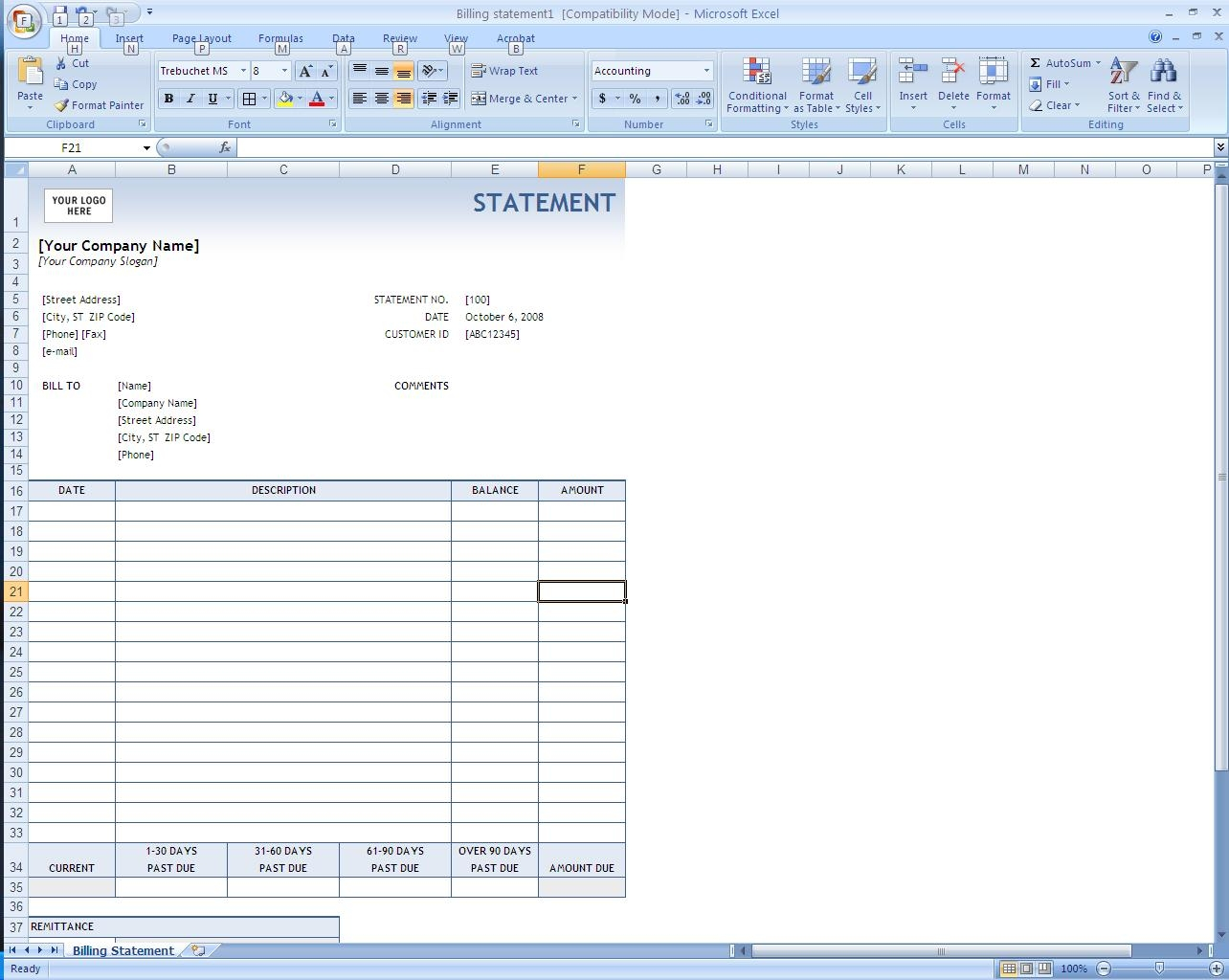 Creating Invoices In Excel Invoice Template Ideas