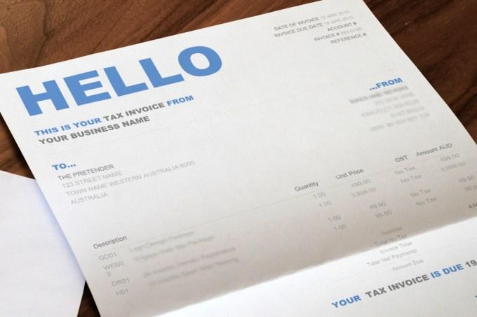 Xero Invoice Templates Docx Its Your Template