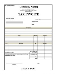 Invoice Receipt Template - Invoice Design Inspiration