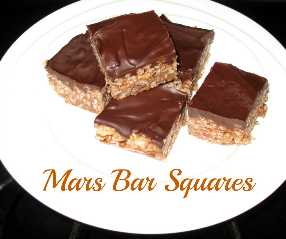 Simple Joys Of Home: Mars Bar Squares