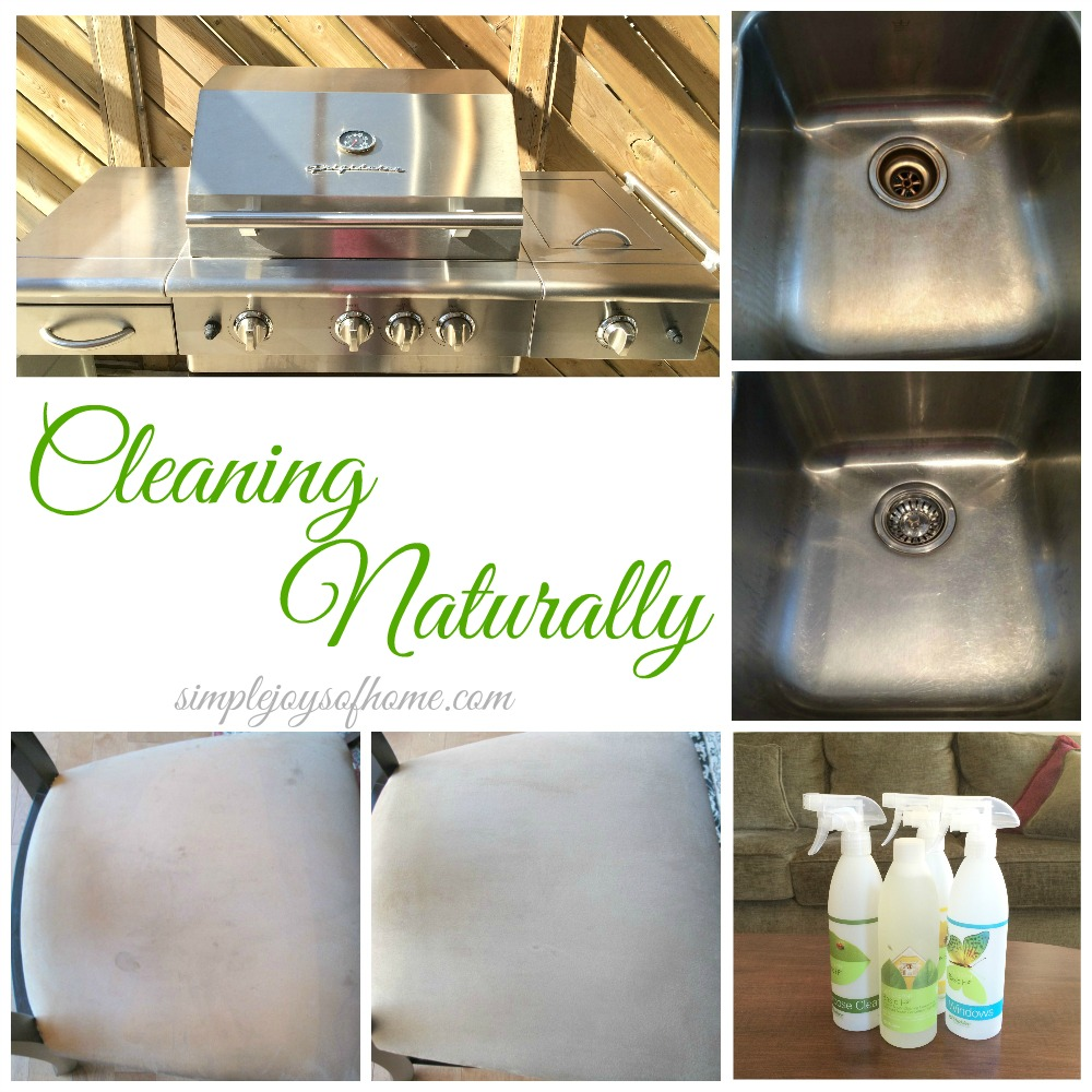 Cleaning Naturally at Simple Joys Of Home