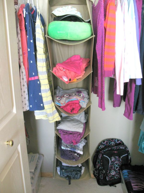 Organize Children School Clothes at Simple Joys of Home