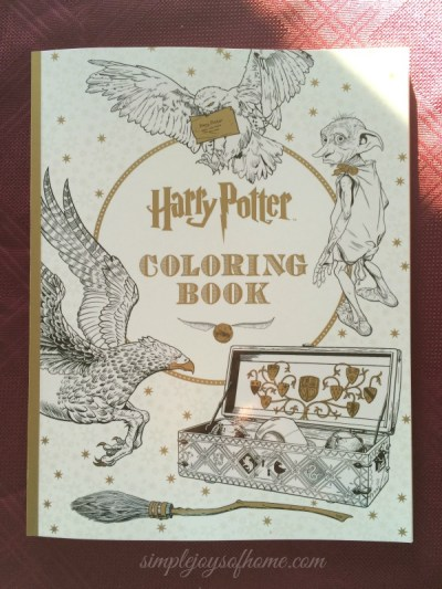 Harry Potter Coloring Book at Simple Joys Of Home