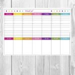 Weekly Planner {Free Printable}
