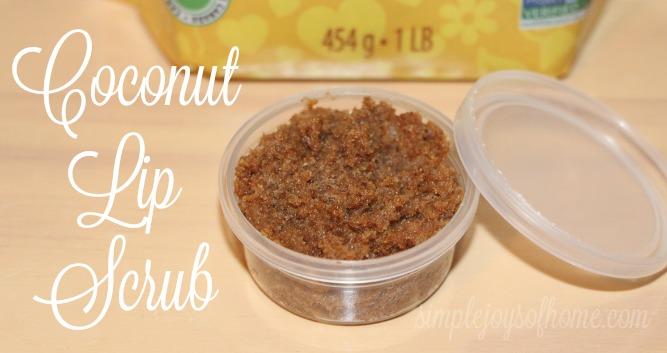 Coconut Lip Scrub