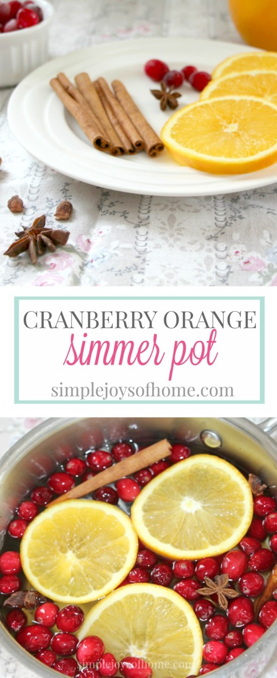 This recipe will make your home smell delicious through the fall and over the winter. Cinnamon, orange, star anise and cranberries meld together to create a heavenly potpourri.