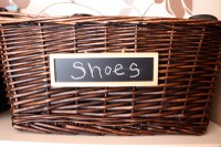 Two Cents Tuesday: The Shoe Basket. | Simple Joys of Home