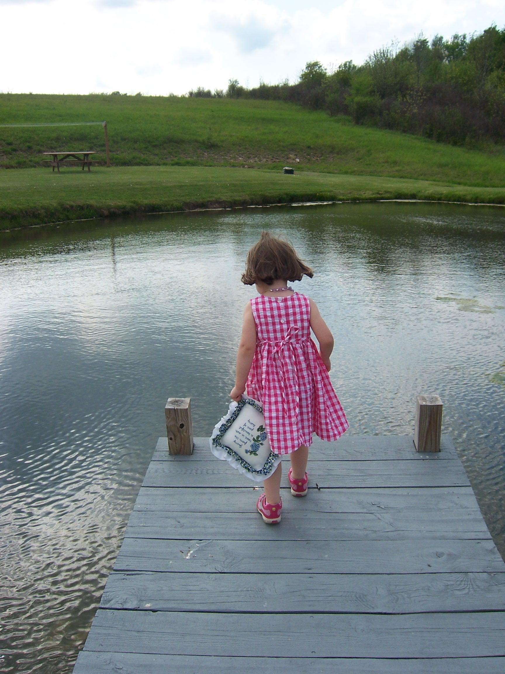 Nikki and Grandma's Pond