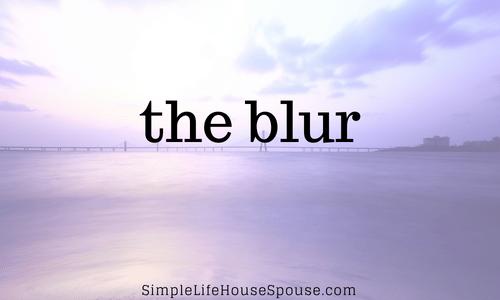 the blur