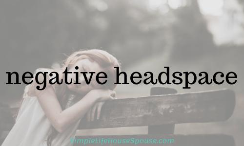 negative headspace