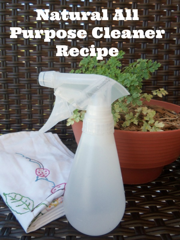 Natural All Purpose Cleaner Recipe Simple Life Mom