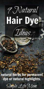 organic 9 natural hair dye