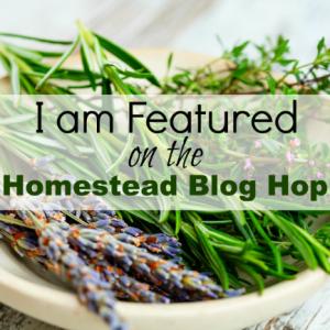 Homestead Blog Hop Selected badge