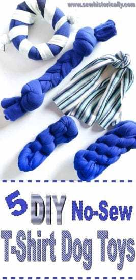 Homestead Blog Hop Feature - 5-Different-DIY-No-Sew-T-Shirt-Dog-Toys-5