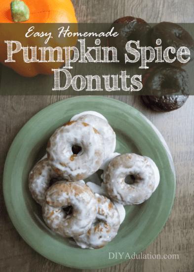 Homestead Bog Hop Feature - Easy-Homemade-Pumpkin-Spice Donut Recipe