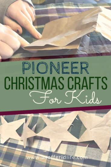 Homestead Blog Hop Feature - Pioneer-Christmas-Crafts-for-Kids