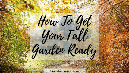 Homestead Blog Hop - How-To-Get-Your-Fall-Garden-Ready