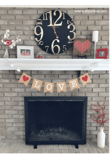 Homestead Blog Hop Feature - DIY Valentine Banner