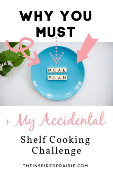 Homestead Blog Hop Feature - Why-You-MUST-Meal-Plan-My-Accidental-Shelf-Cooking-Challenge
