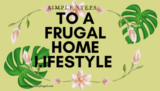 Homestead Blog Hop Feature - Simple Steps to a Frugal Home Lifestyle