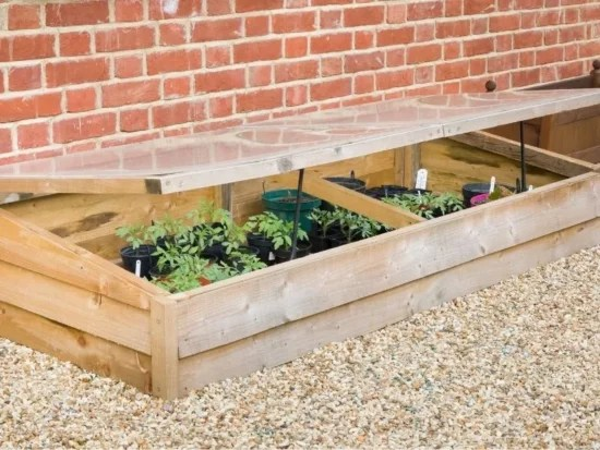 Homestead Blog Hop Feature - 5 Benefits of using cold frames in your garden